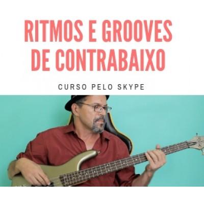 Ritmos e Grooves de Contrabaixo - 165  reais por mês