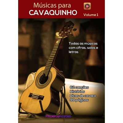 Músicas para cavaquinho Volume 1