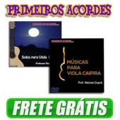 2 dvds Solos de Viola Caipira