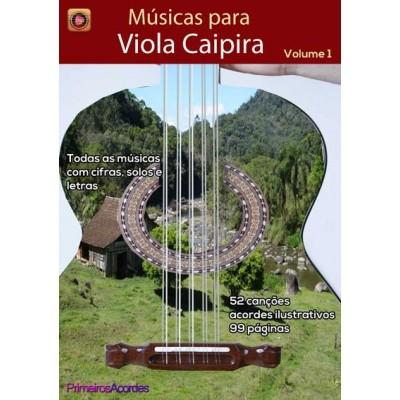 """Músicas para Viola Caipira - volume 1"""""""