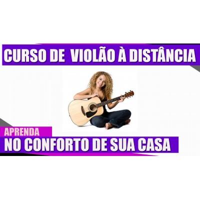 Curso de violão à distância