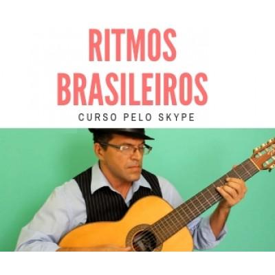 RITMOS BRASILEIROS NO VIOLÃO - 165 reais por mês