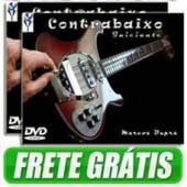 2 dvds Contrabaixo Iniciante